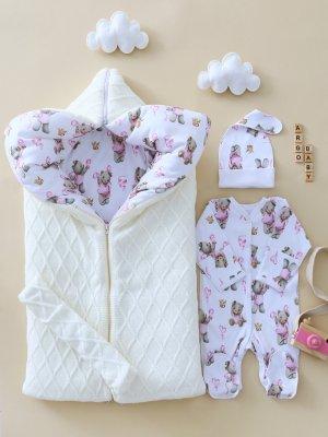 0345 молочно-розовый