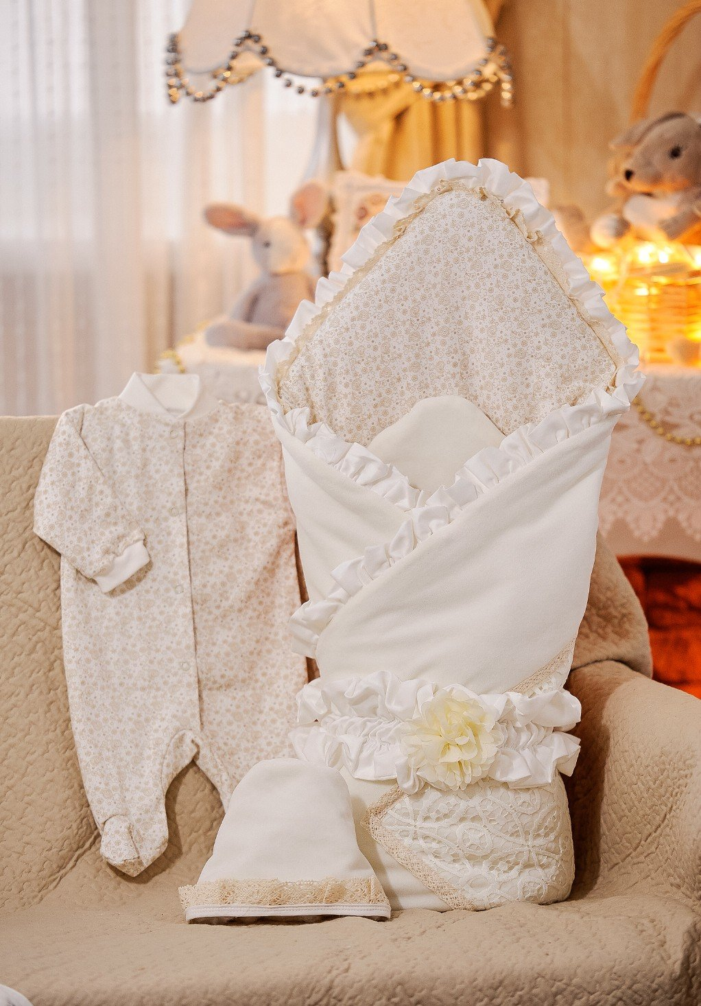 Комплект для новорожденного на выписку своими руками